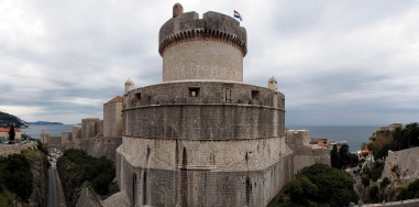 One of the tower forts of Dubrovnik.