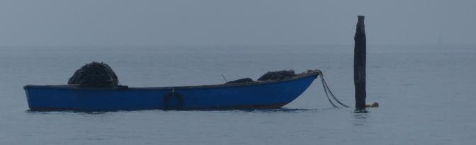 Boat off Pellestrina