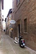 Our hotel: Albergo Giovanni in Urbino.