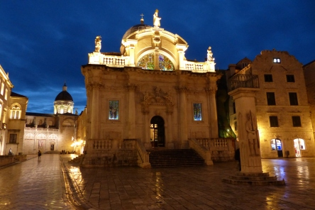 St. Blaise Church in Dubrovnik.