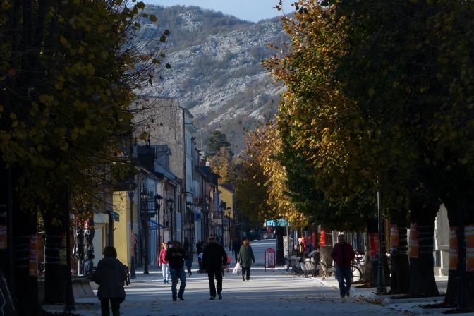 Cetinje, Montenegro's old capital.