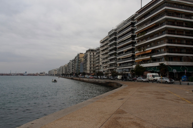 Thessaloniki waterfront.