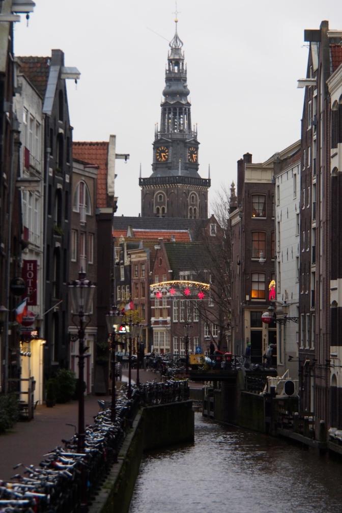 The Oude Kerk in Amsterdam.