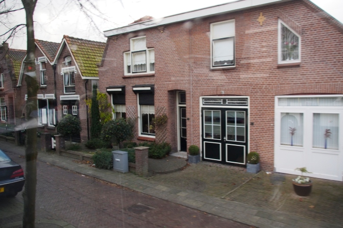 The house on the Koninginneweg where I grew up.