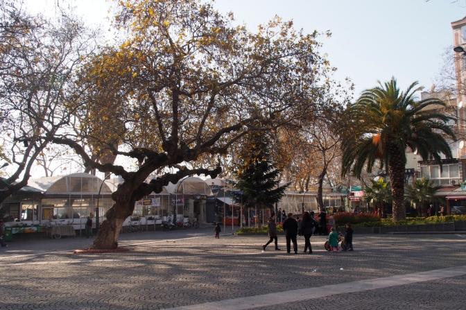 Erdek main square.