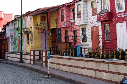 Ottoman houses in Sultanahmed.