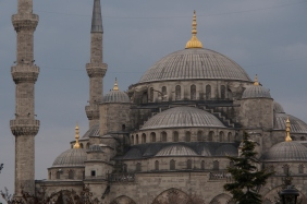 Sultanahmed Camii - the Blue Mosque.