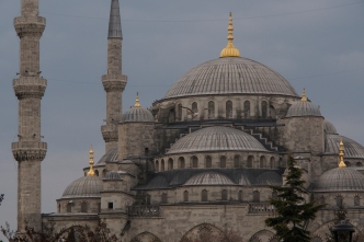 Sultanahmed Camii - the Blue Mosque.