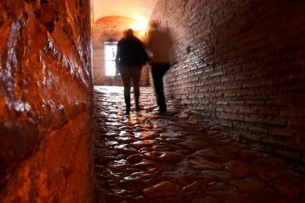 Ramp leading up to the second level of Ayasofya - Hagia Sophia.