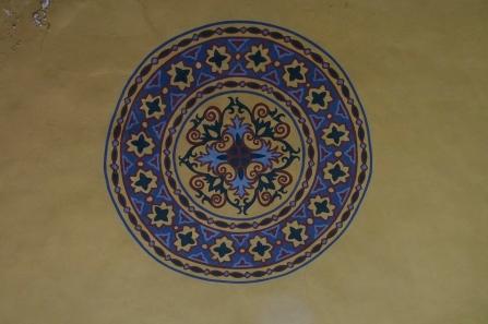 Ceiling detail in Ayasofya.
