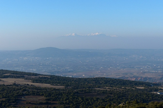 Mt. Olympus from Vasilios and Ariadni's place.