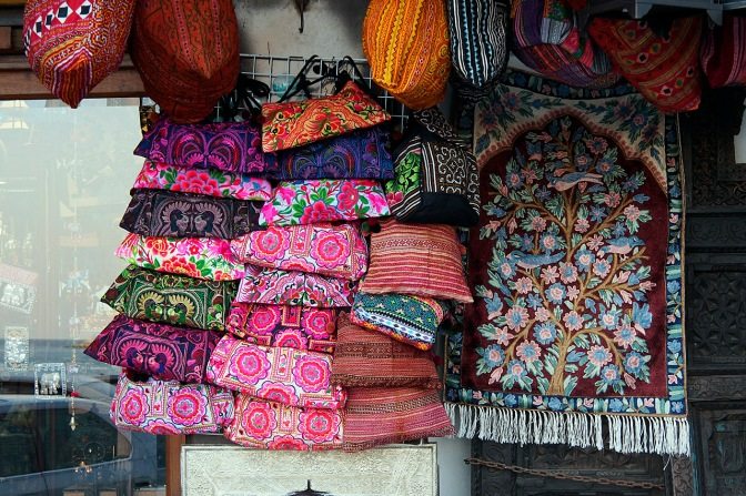 Shop in the Muttrah Market.