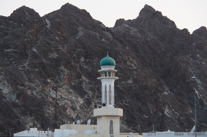 Mosque in Muttrah.