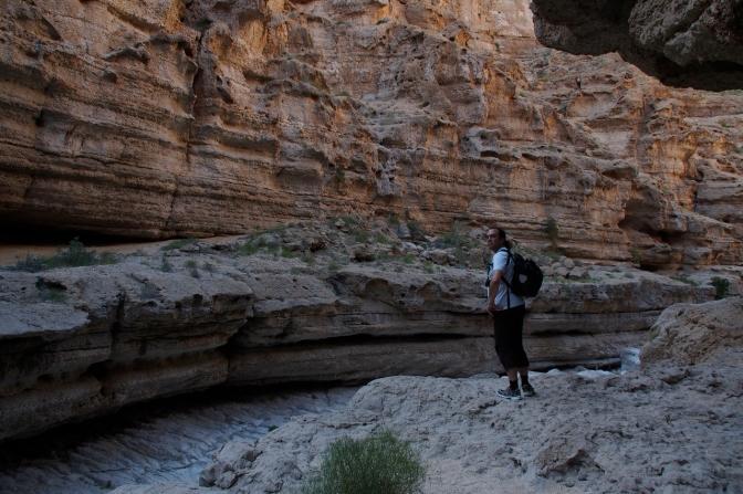 Holger in Wadi Shab.