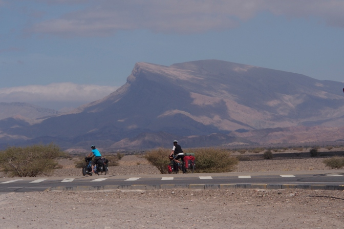 Cycling east to Al-Hawiyah.