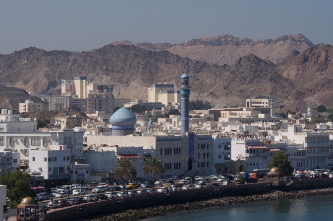 Muttrah waterfront in Muscat.