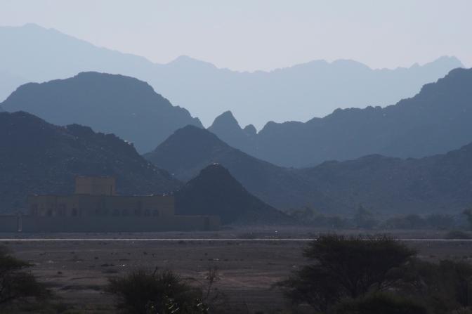 Jabal al Akhbar mountains.