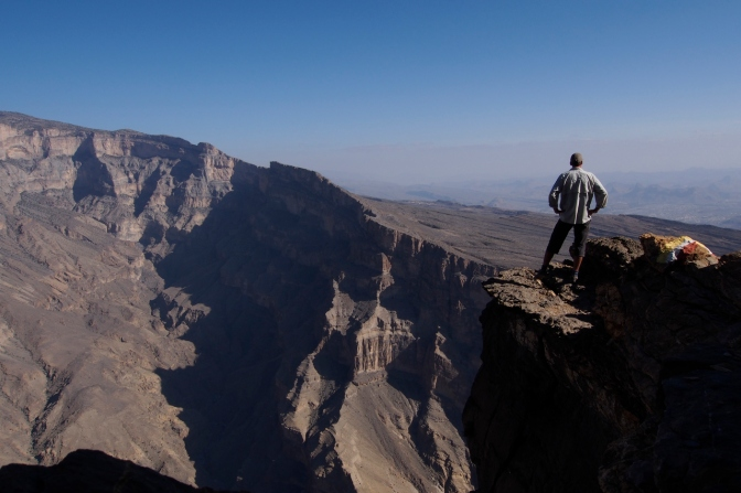 The Grand Canyon of Jabal Shams.