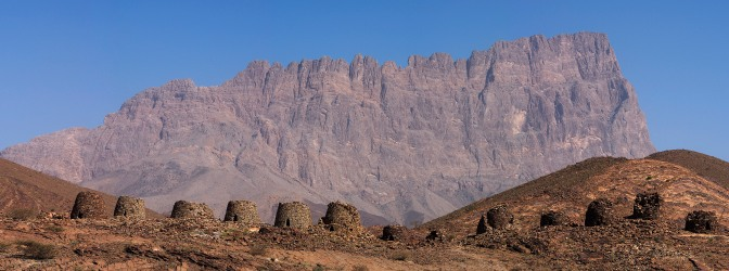 Beehive tombs at Al Ayn.