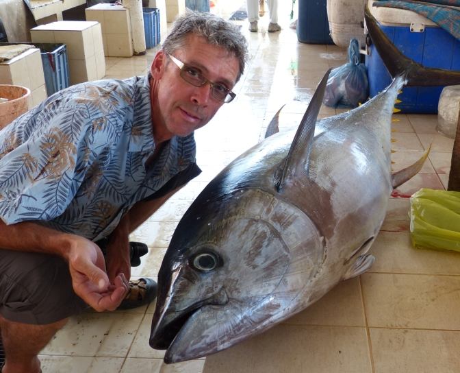 The big tuna: 100 KG.