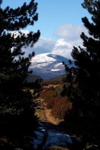 A glimpse of the Sierra de Guara.