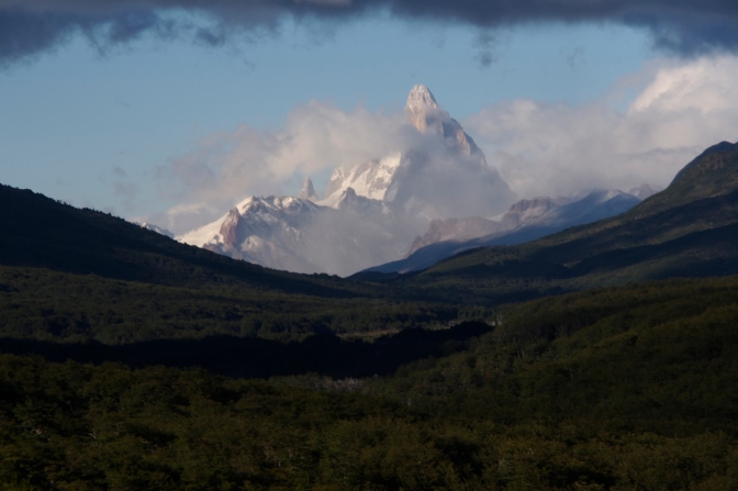 One last look at back at Fitz Roy.