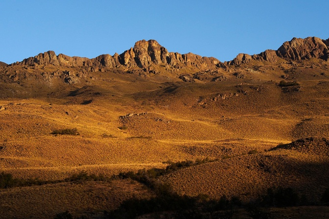View from Chacabuco camp site.