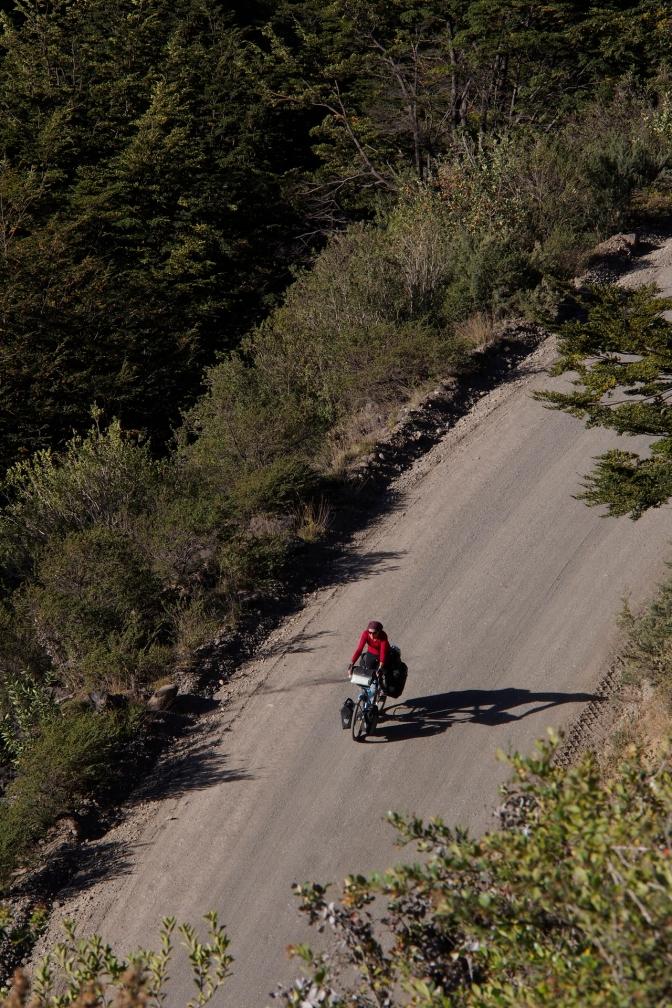 Approaching Villa Cerro Castillo.