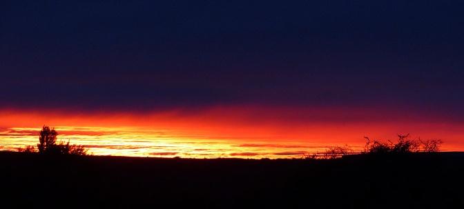 Sunrise at Hotel La Leona.