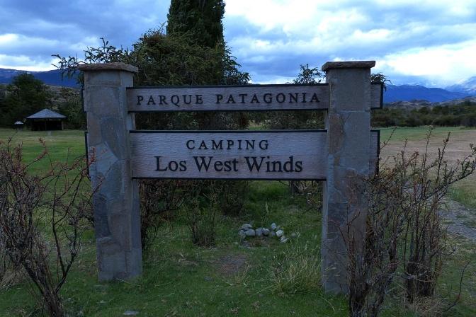 Campemento Los west Winds.