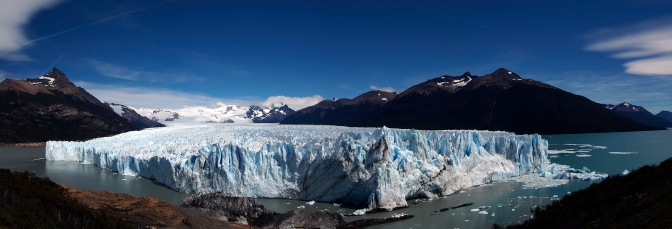 Perito Moreno Glacier. Click on the photo. A new page will open.