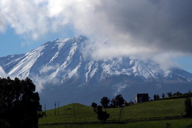Calbuco Volcano.