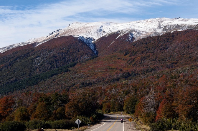 Fall and winter along the 7 Lakes Route.