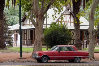 Another classic in Mendoza. A Ford Falcon, I think.