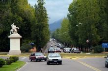Avenue Del Liberator in Mendoza.