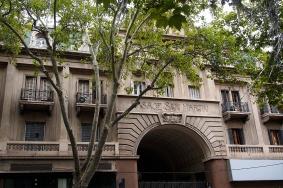 Exterior of Pasaje San Martin.