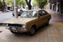 A classic Dodge Duster (I think) in Mendoza.