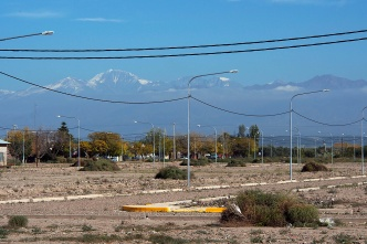 Ready for a new subdivision with a view of the Andes in MaipϜ.
