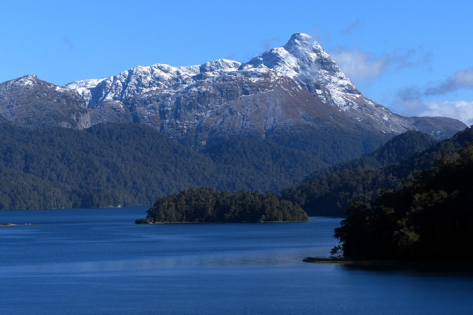 Lago Espejo along the 7 Lakes Route to San Martin De Los Andes.