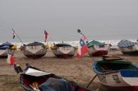Fishing boats in Coquimbo.
