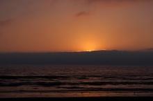 La Serena sunset.