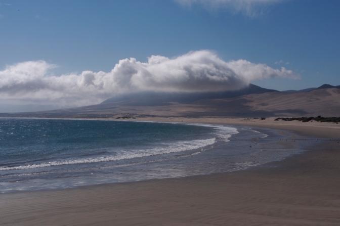 Huasco beach.