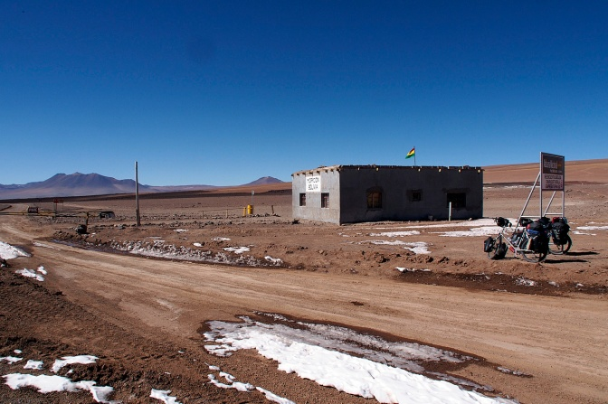 Bolivian border crossing.
