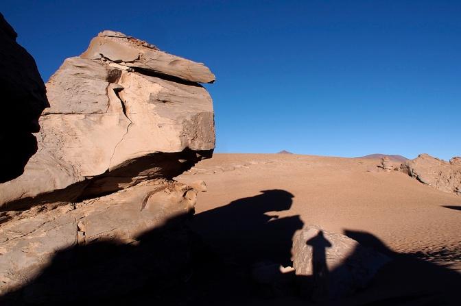 Arbol de Piedra shadows.