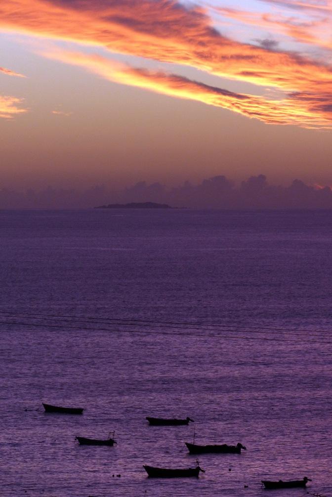 Sunset at Los Hornos.