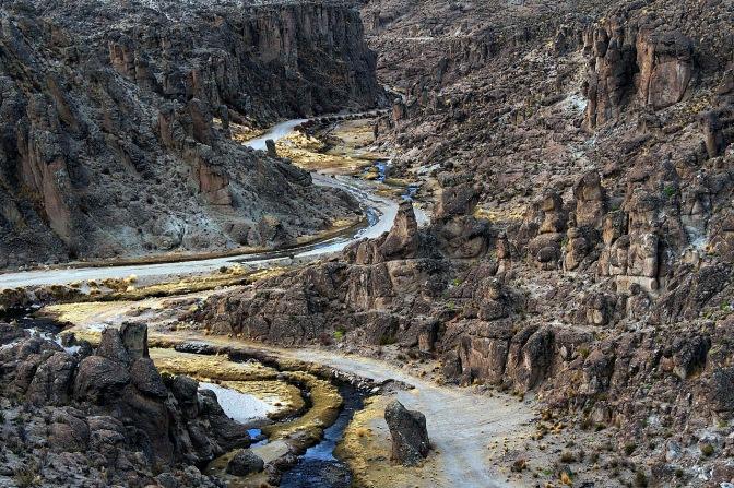 Canyon near Agua Castilla.