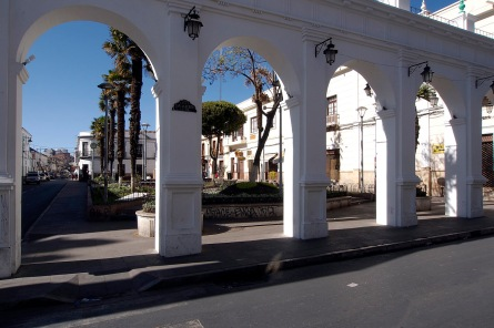 Sucre near the central market.
