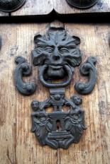 Cathedral door detail.