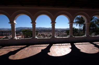 Recoleta viewpoint.