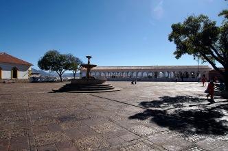 Recoleta plaza.